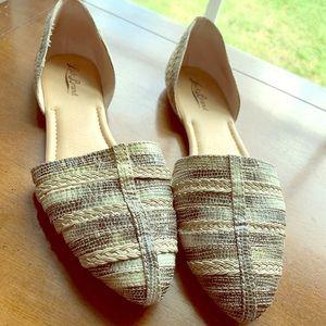 Lucky Brand Textured Ballet Flats